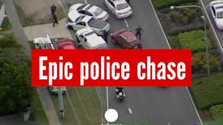 17-yr-old pulls out all the stops in epic police chase, Australia