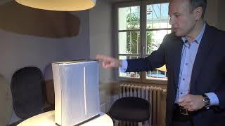 Niečo pre alergikov: Účinná čistička vzduchu zo Švajčiarska - StadlerForm Roger