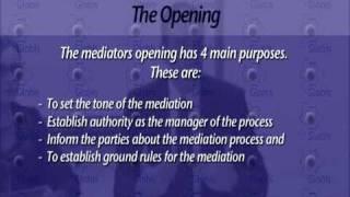 Purpose of the Mediator