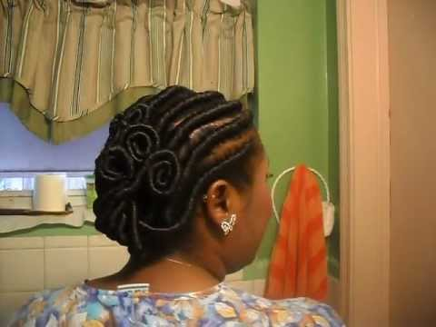 Crochet Twist Braids - YouTube