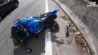 Weekend solo Gohtong ride | Aston Martin | Suzuki GSX-R1000 crash