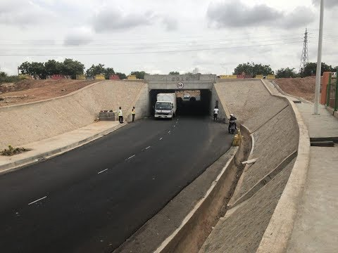 New tunnel under Accra-Tema Motorway opened