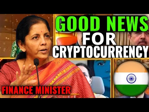 MINISTER OF FINANCE STATEMENT ON CRYPTOCURRENCY BILL AND REGULATION IN INDIA