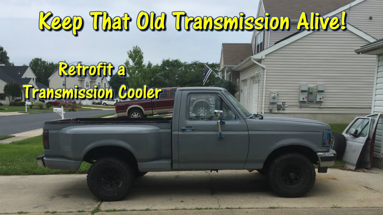 2003 f150 transmission cooler