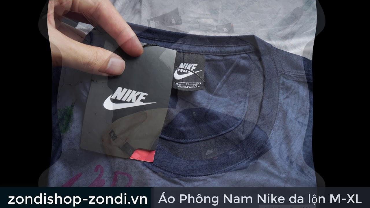 Áo Phông Nam Nike da lộn M-XL
