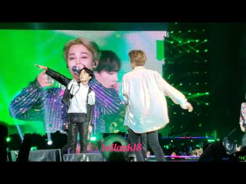 181006 (Boyz with Fun+Attack on Bangtan+Fire+Baepsae+Dope) BTS LOVE YOURSELF TOUR CITIFIELD NY