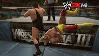 """WWE 2K14"" How-To: Hulk Hogan vs. Andre the Giant at WrestleMania 3"