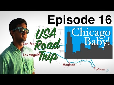 Cleveland to Chicago Baby! - USA Road Trip Ep. 16