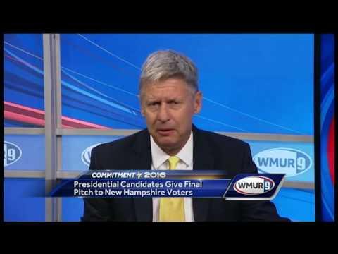2016 final pitch: Gary Johnson, candidate for president