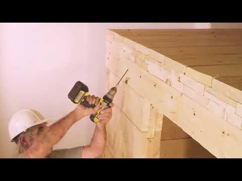 Constructing A Wood Tornado Shelter (3 Of 6)