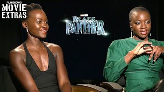 Black Panther (2018) Lupita Nyongo & Danai Gurira talk about their experience making the movie