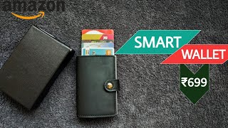 SMART WALLET For Men's with RFID Blocking system in 2019
