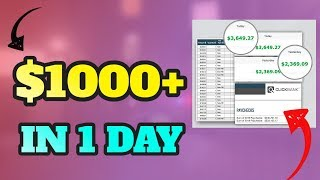 Number 1 Way To Make Money Online, Earn $1000 Per Day 🔥