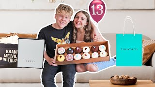 What I Got For My 13th BIRTHDAY!! **EMOTIONAL SURPRISE**🧁💕 | Piper Rockelle