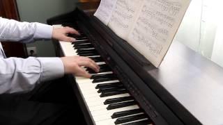 Beethoven - Moonlight Sonata 1st movement - Sonate au Clair de Lune - 1er mouvement