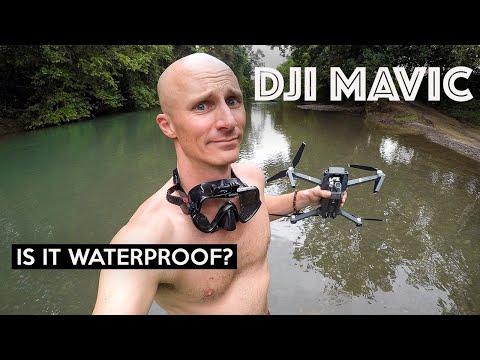 IS THE DJI MAVIC WATERPROOF?!