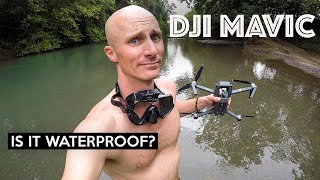 IS THE DJI MAVIC WATERPROOF?!
