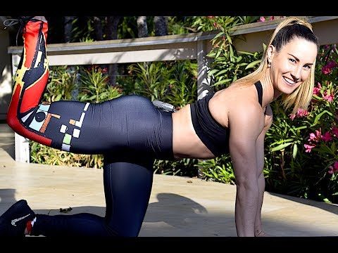39-Min At Home High Energy Cardio Workout with Focus on Butt & Thighs