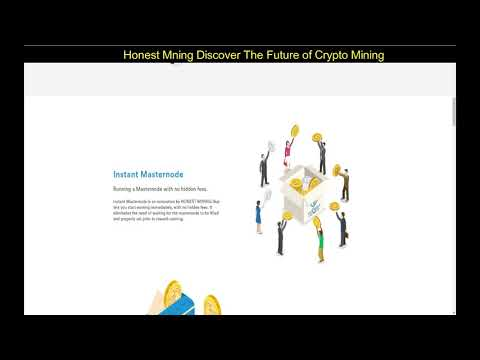 Honest Mning Discover The Future Of Crypto Mining
