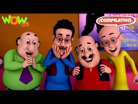Motu Patlu - Non stop 3 episodes   3D Animation for kids - #15 thumbnail