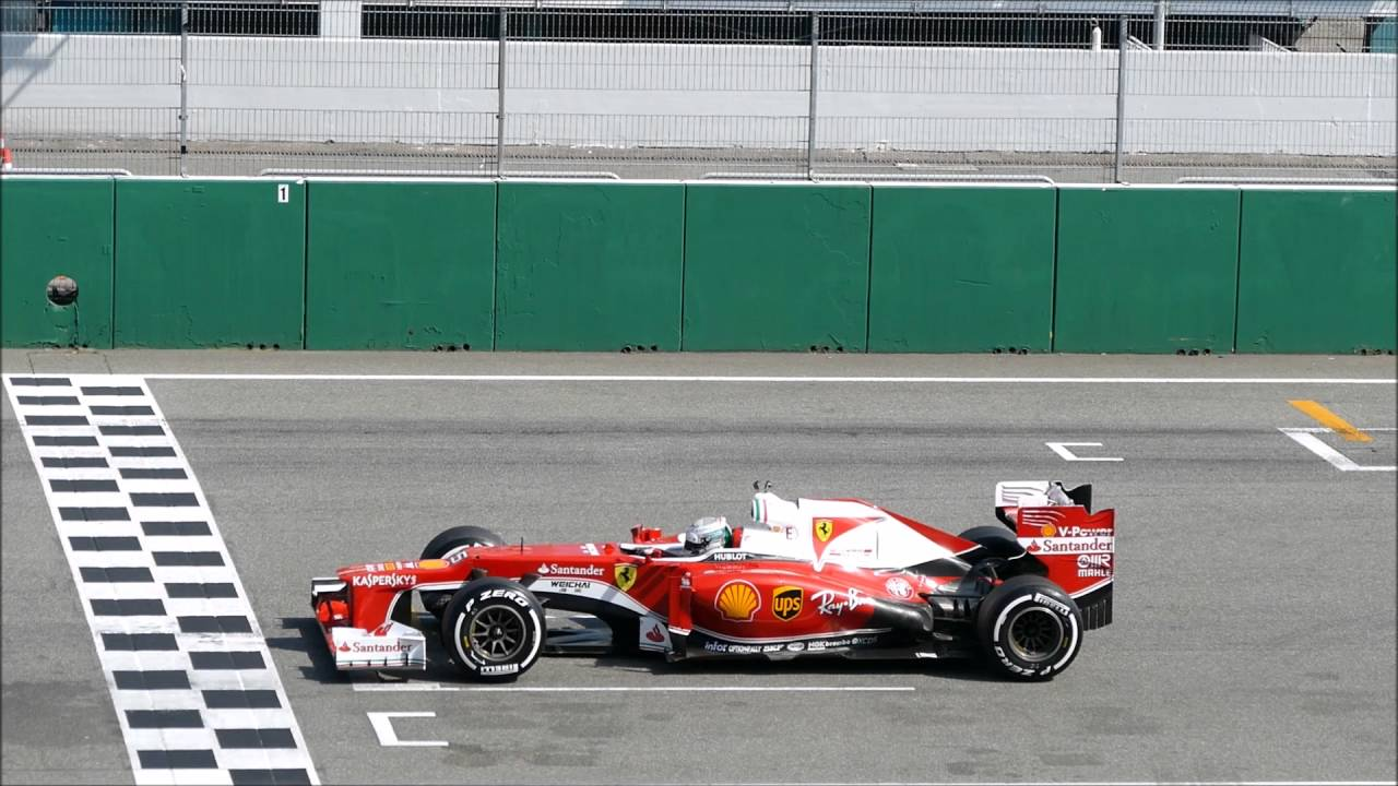 Test start Sebastian Vettel Ferrari F2012 Ferrari Racing ...