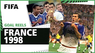 All of France s 1998 World Cup Goals Henry Zidane more