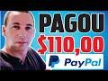 [INCRÍVEL😎] APLICATIVO JÁ PAGOU MAIS DE $110,00 (SAQUE E PROVA DE PAGAMENTO)