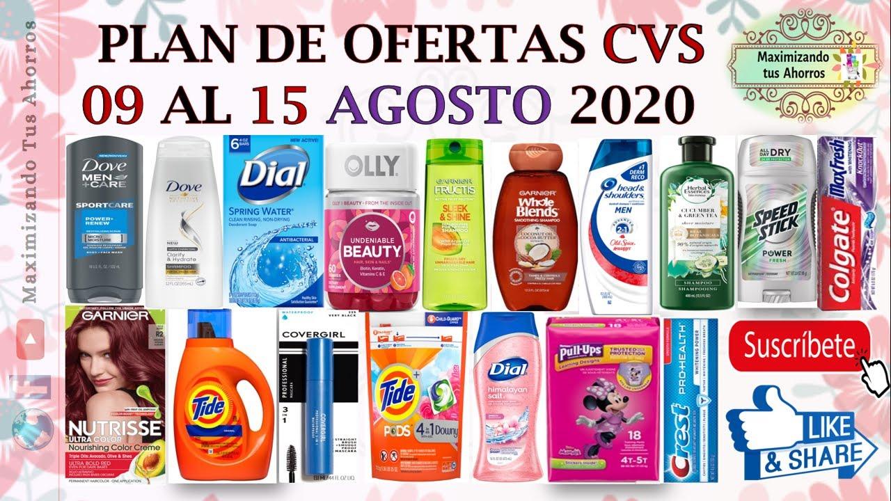Plan de Ofertas CVS 👉8/9/20 al 8/15/20