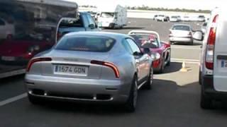Maserati 3200 gt sound Circuito Monteblanco (Huelva)
