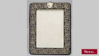 Antique French Victorian Large Easel Picture Frame With
