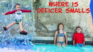 Video WATER PARK Fun TheEngineeringFamily Assistant and Batboy searched for Officer Smalls download MP3, 3GP, MP4, WEBM, AVI, FLV Desember 2017
