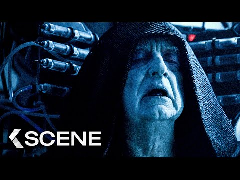 Rey & Kylo Ren vs. Palpatine Fight Scene - STAR WARS 9: The Rise of Skywalker (2019)