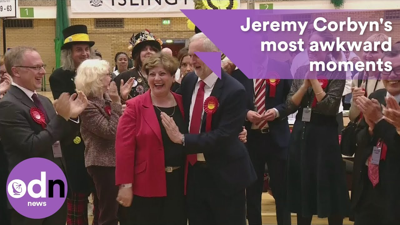 Jeremy Corbyn's top 5 most awkward moments