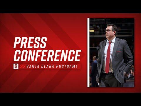 Stanford Men's Basketball: Santa Clara Postgame Press Conference
