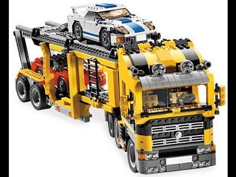 lego creator le transport de voitures jouet pour les enfants youtube. Black Bedroom Furniture Sets. Home Design Ideas