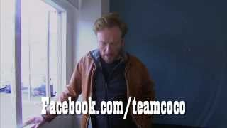 Conan Trashes His Head Writer