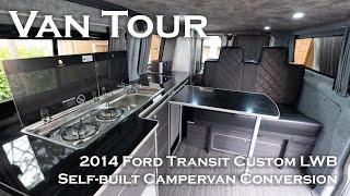 Van Tour - Ford Transit Custom Self Built Campervan Conversion