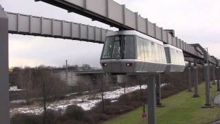 The Skytrain (H-Bahn) at Düsseldorf International Airport (DUS), Germany - 8th February, 2013