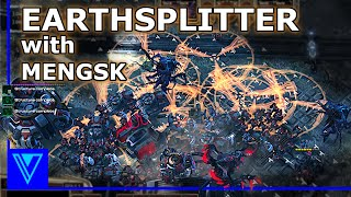 Mass EARTHSPLITTER strategy with MENGSK | StarCraft 2 Co-Op Missions