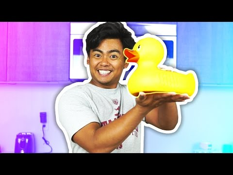 DIY How To Make GIANT GUMMY RUBBER DUCKY!