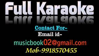 Nache Man Mora Magan Karaoke Video Lyrics Meri Surat Teri Aankhe