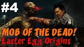 ★ CoD Zombies EASTER EGG Origins: MOB OF THE DEAD [4] ★ Death Machine + RPG = ZERO MOBILITY!