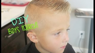 DIY BOYS HAIRCUT!!!