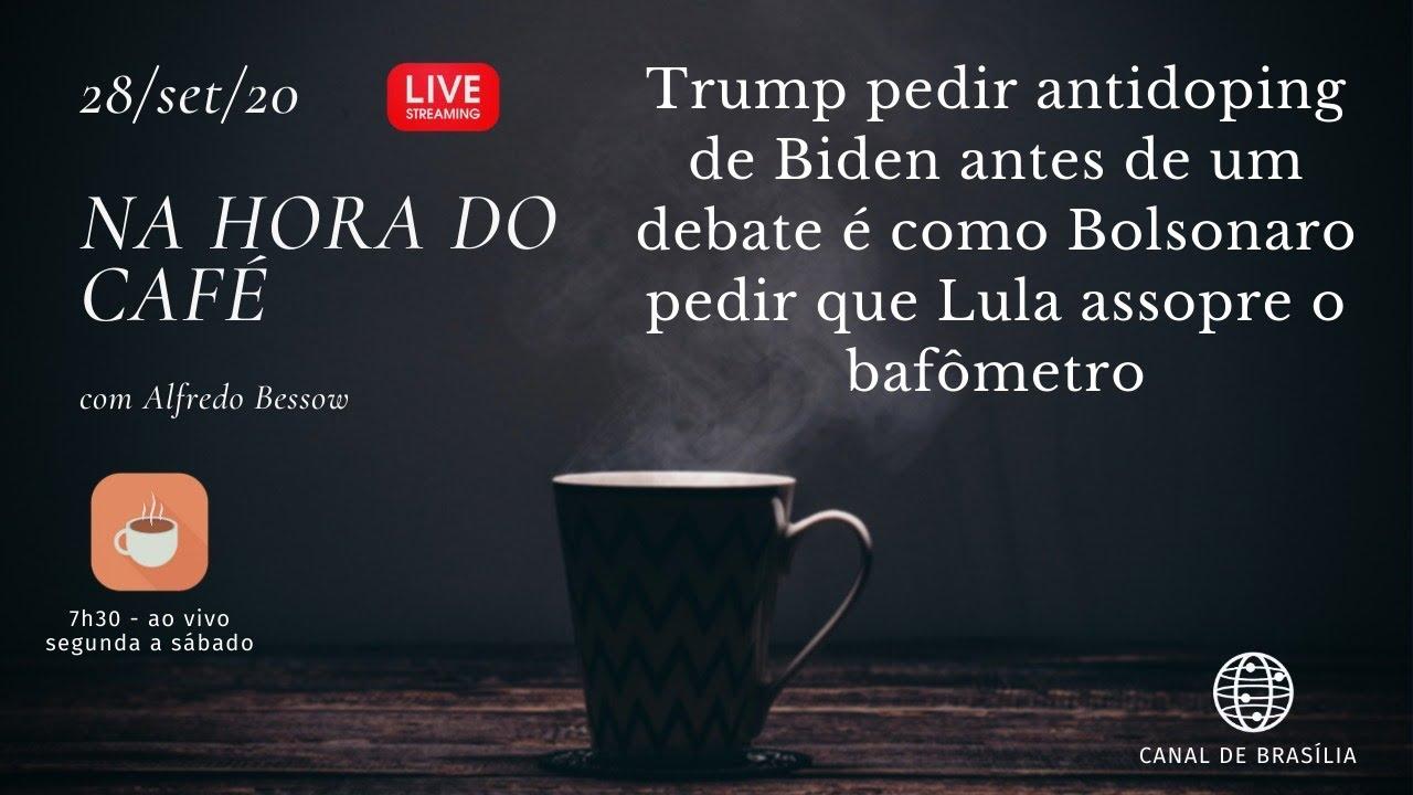 Na hora do café - Antidoping atemoriza Biden como bafômetro assusta Lula