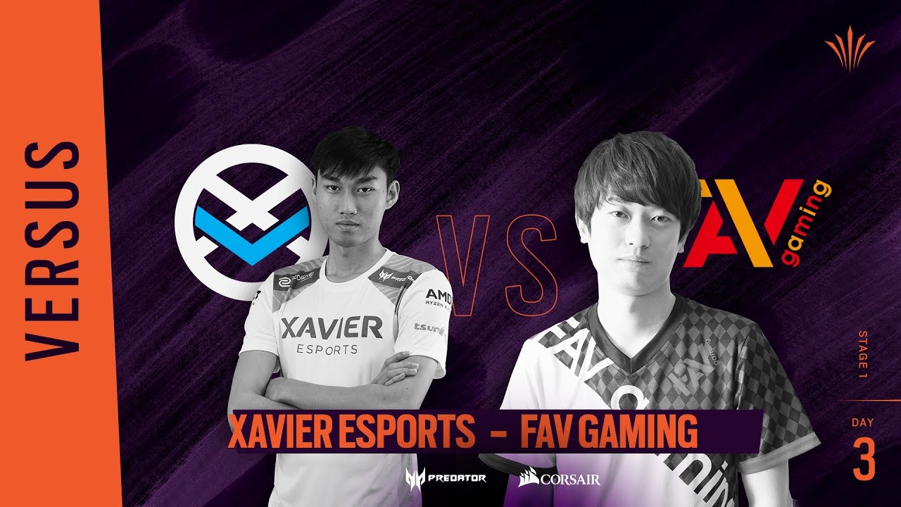 Xavier Esports vs FAV Gaming // Rainbow Six APAC North Division - Playday #3