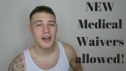 NEW Air Force MEDICAL WAIVER POLICIES! Marijuana use, Asthma, ADHD, Eczema