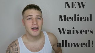 NEW Air Force MEDICAL WAIVER POLICIES! Marijuana use, Asthma, ADHD, Eczema