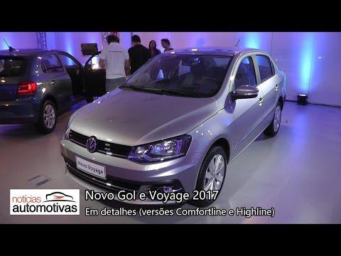 Novo Gol 2017 e Novo Voyage 2017 - Detalhes - NoticiasAutomotivas.com.br