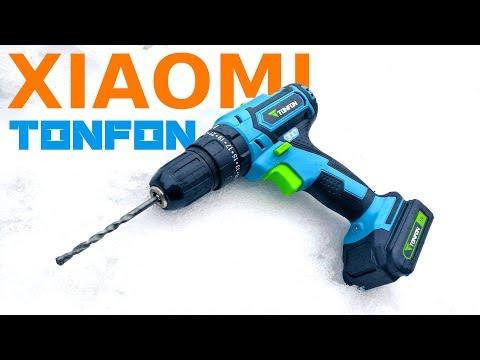 👍 Ударный ШУРУПОВЕРТ XIAOMI TONFON 12V 🛠️ Способен заменить перфоратор? Инструменты из Китая