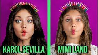MIMI LAND imita el instagram de KAROL SEVILLA